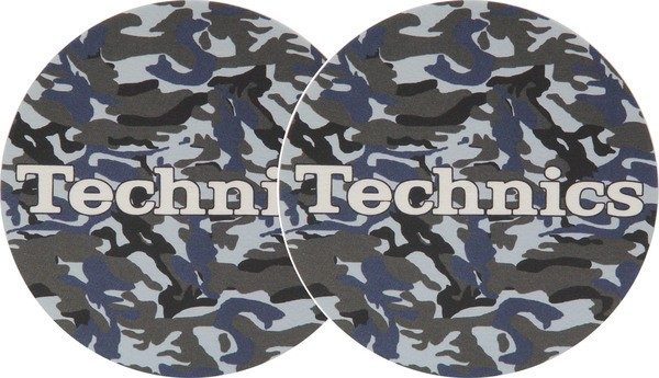 2x Slipmats - Technics Army Navy_1