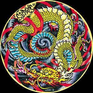 Slipmats Sicmats Dragon (Doppelpack)_1