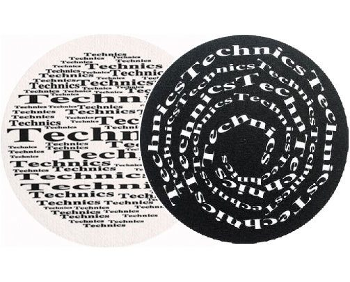 2x Slipmats - Technics Broadway Spiral_1