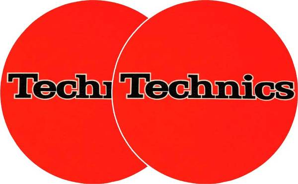 2x Slipmats - Technics - Orange_1