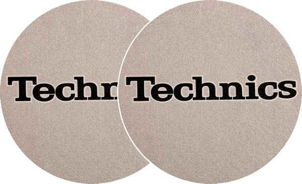 2x Slipmats - Technics - Silber_1