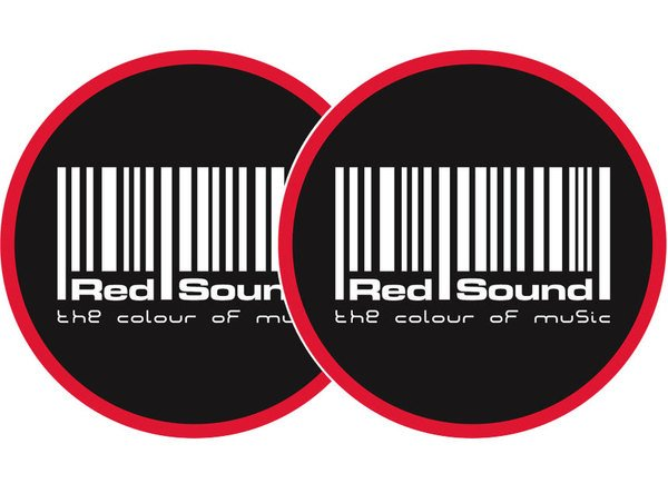 2x Slipmats - Redsound Logo_1