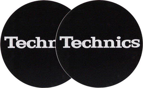 2x Slipmats - Technics Logo - silber_1