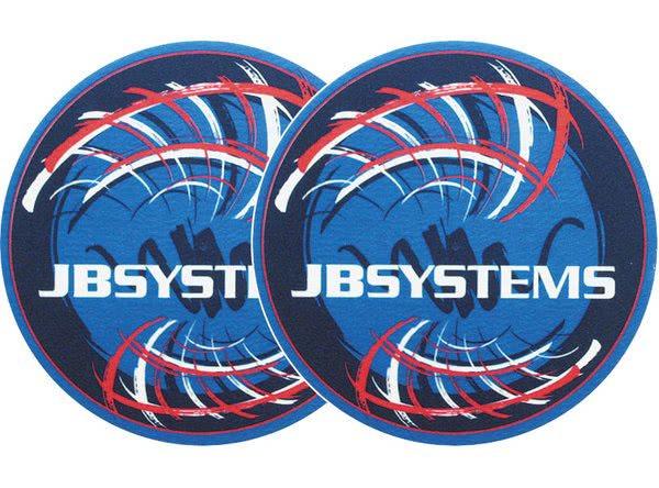 2x Slipmats - JB-Systems - rot_1