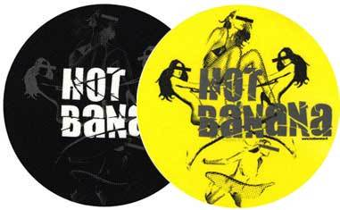 2x Slipmats - Hot Banana_1