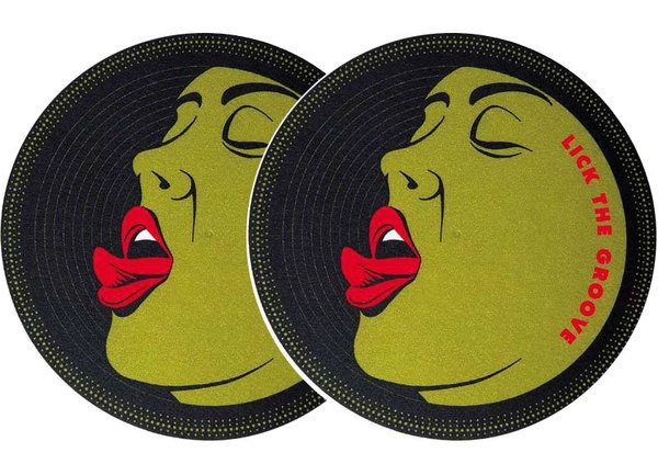 2x Slipmats - Lick the Groove_1