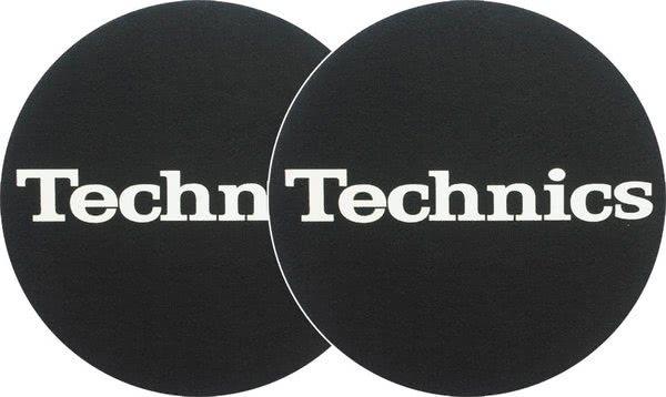 2x Slipmats - Technics Logo - weiss_1