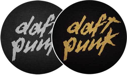2x Slipmats - Daft Punk_1