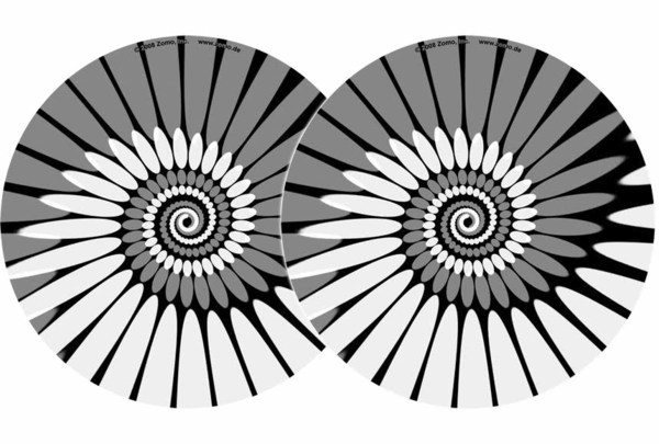 2x Zomo Slipmats - Paint - weiß_1