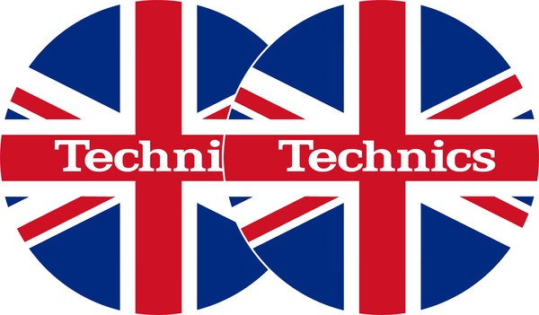 2x Slipmats - Technics UK flag_1