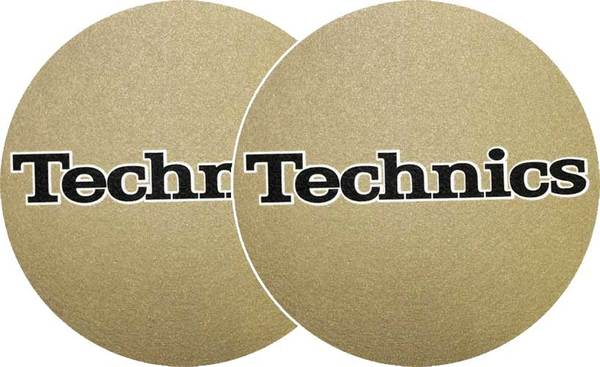 2x Slipmats - Technics - Gold_1