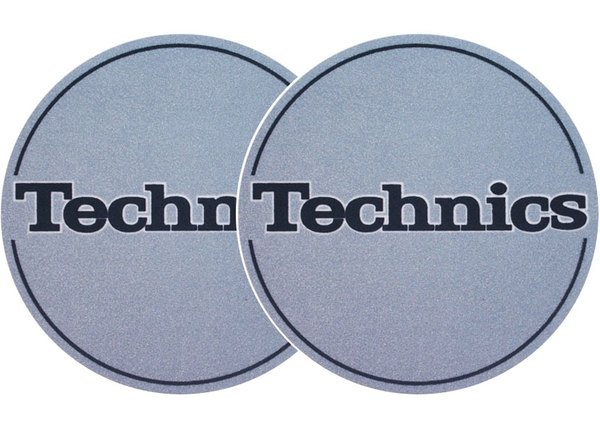 2x Slipmats - Technics - metallic blau_1