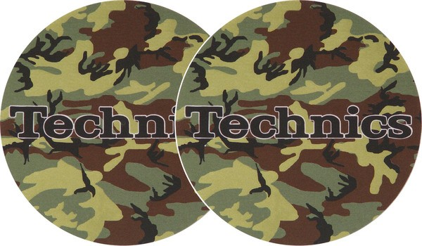 2x Slipmats - Technics Army_1