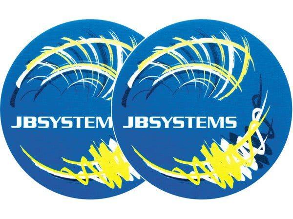 2x Slipmats - JB-Systems - gelb_1