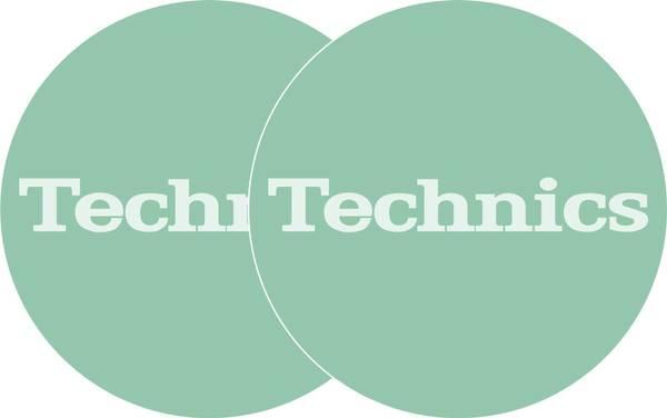 2x Slipmats - Technics - Türkis_1