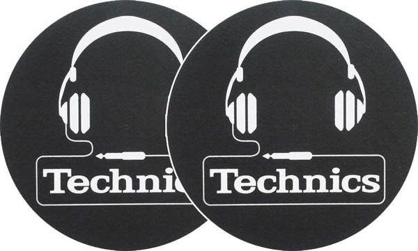 2x Slipmats - Technics Headphones_1
