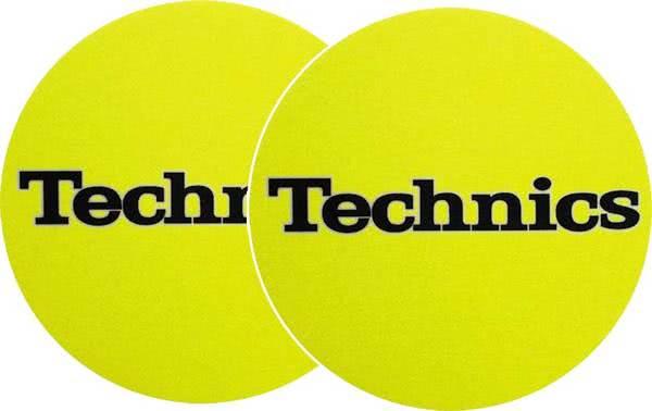2x Slipmats - Technics - Gelb_1