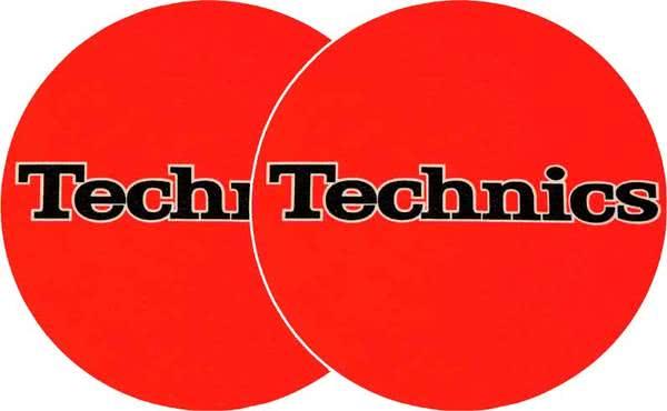 2x Slipmats - Technics - Orange_1