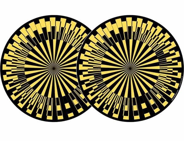 2x Zomo Slipmats - Scope - gelb_1