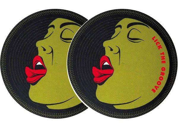 2x Slipmats - Lick the Groove_1