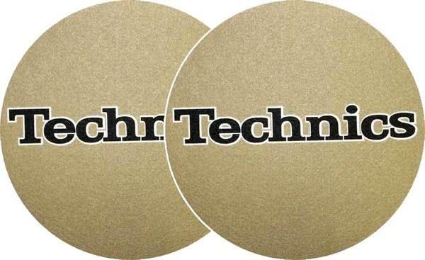 2x Slipmats - Technics - Gold_1