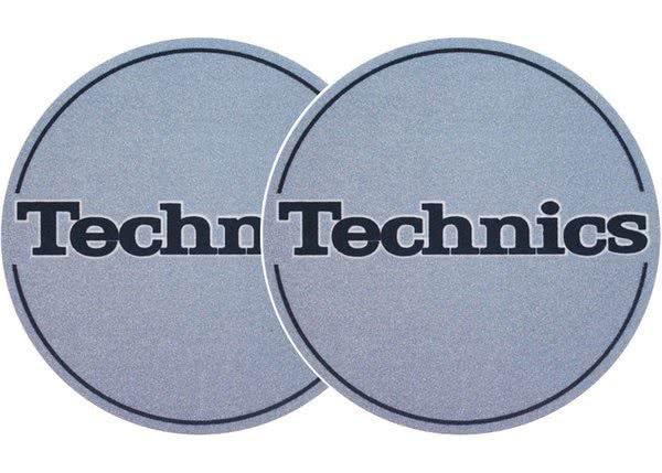 2x Slipmats - Technics - metallic blau_1